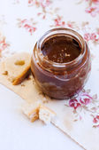 Dark Hazelnut Butter — Stock Photo
