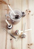 Hot Chocolate Stirrers — Stock Photo