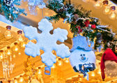 Traditional christmas shopping — Stock Photo