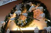 家にクリスマス ライト — ストック写真