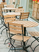 Morning cafe in Baden -Baden — Stock Photo