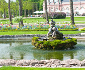 Small fountain in the park — Foto Stock