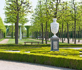 Vase outdoor in the park — Stockfoto