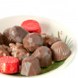 Assorted chocolate candies  — Stock Photo