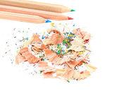 Kalem ve talaşı — Stok fotoğraf