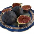 Royalty-Free Stock Photo: Figs on a plate
