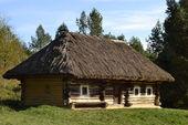 Old ukrainian house — Stock Photo
