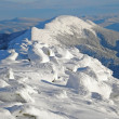 Snow-capped mountains of Carpathians — 图库照片
