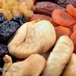 Stock Photo: Various dried fruits close-up