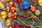 Varicolored Christmas decorations — Stock Photo
