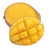 Mango on white background — Stock Photo