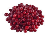 Heap of fresh red cranberries — 图库照片