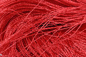 Red threads close-us — Foto Stock