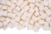 Heap of refined sugar — Stock Photo