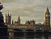 Houses of Parliament, London, England — Stock Photo
