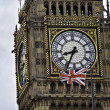 Stock Photo: Clock on Big Ben, London, England
