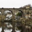 Stone viaduct at Knaresborough — Stock Photo