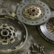 Stock Photo: Car clutch components