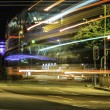 Long exposure night scene — Stock Photo