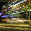 Stock Photo: Long exposure night scene