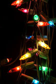 Christmas decoratation light — Foto Stock