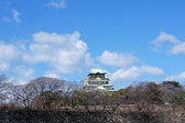 Osaka Castle, Osaka, Japan — Stock fotografie