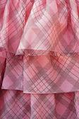 Belle strati di tessuto rosa delicato — Foto Stock