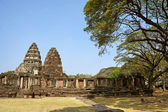 Pimai Castle, a historic and ancient castle in Thailand — Stock Photo