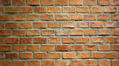 Red brick wall texture background — Stock Photo