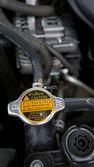 Engine of modern car — Stock Photo