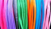 Colorful shoestring — Stock Photo