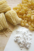 Homemade noodle — Stock Photo