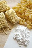 Pasta fatta in casa — Foto Stock
