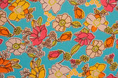 Floral Fabric pattern — Stock Photo