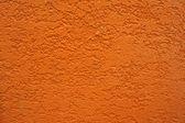 Side of orange wall — Stock Photo