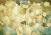 Abstract vivid color ice water texture — Stock Photo