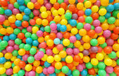 Many colour plastic balls for background — Stock Photo