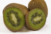 Kiwi on White — Stock Photo