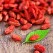 Dried goji berries — Stock Photo