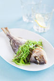 Grilled sea bream — Stock Photo