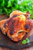 Yogurt marinated chicken — Stock Photo