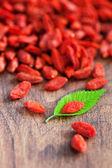Dried goji berries — Stock Photo