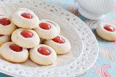 Homemade almond cookies — Stock Photo