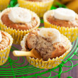 Vegan banana muffins — Stock Photo
