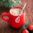 Stock Photo: Hot cocoand chocolates