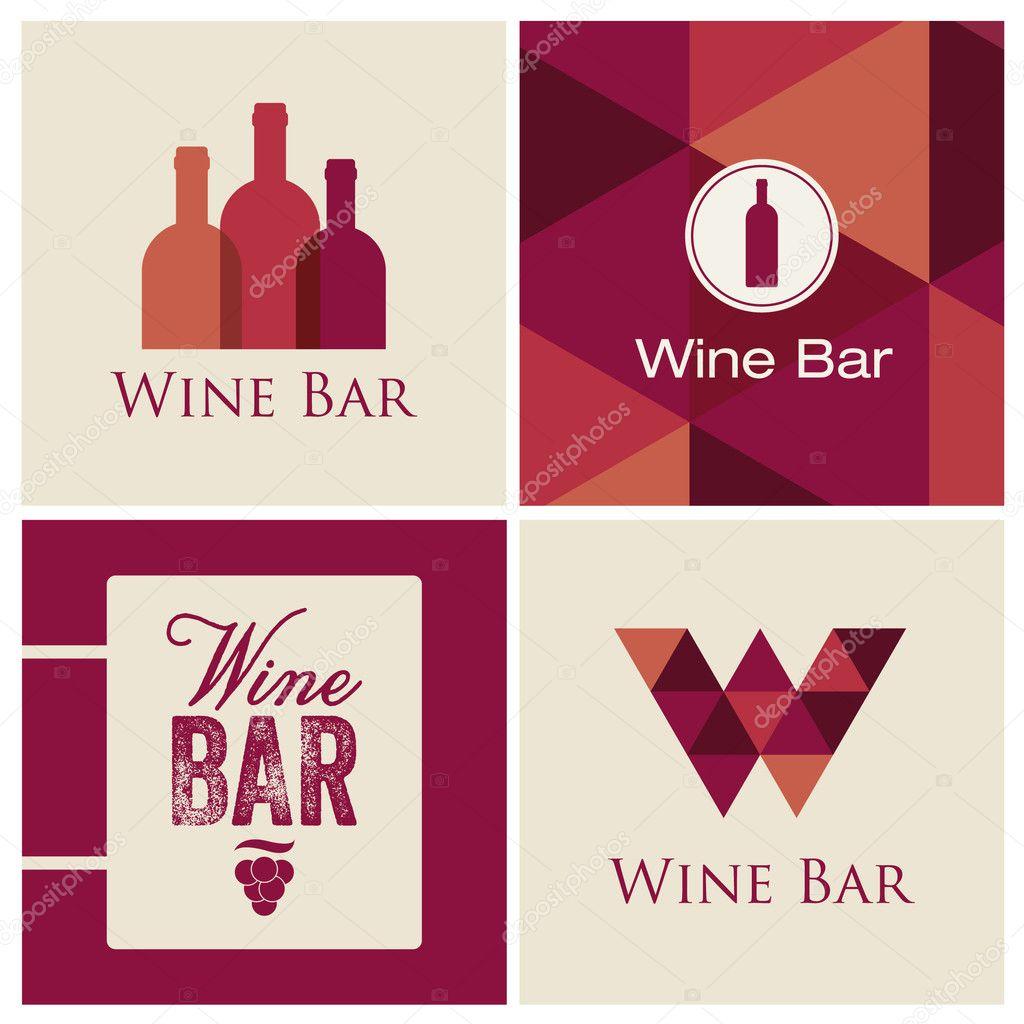 Bar Restaurant Logo Design Wine Bar Restaurant Logo
