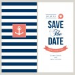 Wedding invitation card — ストックベクター #27799733