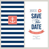 Wedding invitation card — Stockvector