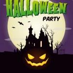 Happy halloween party poster — Stock Vector #28030077