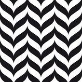 Dubbele punthaken naadloze patroon achtergrond retro vintage design — Stockvector